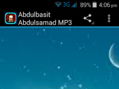 Abdulbasit Abdulsamad MP3 1.0 Screenshot