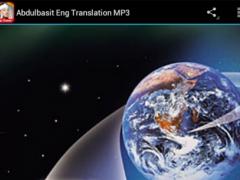Abdulbasit Eng Translation MP3 1 0 Free Download