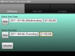 ABetter Date Calculator PRO 1.2.2 Screenshot