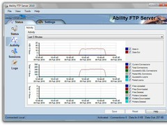 Ability FTP Server 3.0.0 Screenshot