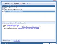 Ablebits.com Auto BCC for Outlook 3.5.0 Screenshot