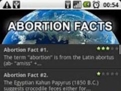 Abortion Facts 1.0 Screenshot
