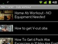 Abs Trainer - Daily workout 1.0 Screenshot