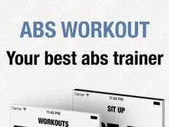 Abs Workout - Personal Trainer for daily six pack ab hiit training workouts & exercises 1.4 Screenshot