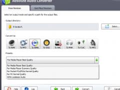 Absolute Audio Converter 7.5.7 Screenshot