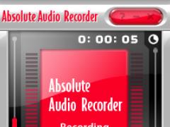 Absolute Audio Recorder 7.5.7 Screenshot