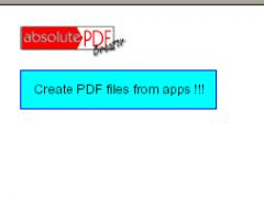 absolutePDF-Creator Easy 1.4.5 Screenshot