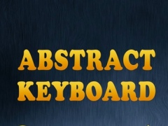 Abstract HQ Keyboard - Cool Background.s, Custom Skin.s And Color Theme.s For Text.ing 1.0 Screenshot