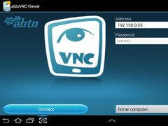 abtoVNC Viewer 1.4 Screenshot