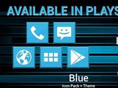 AC-ICS Blue Apex Nova Holo ADW 3.0.6 Screenshot