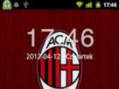 AC Milan GO Locker Theme 1.0 Screenshot