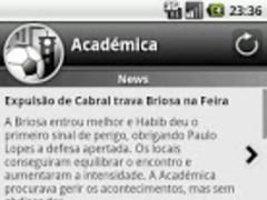 Académica For Fans 1.4.5 Screenshot