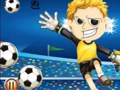 Academy Football:Save the goalkeeper from goals 1.0 Screenshot
