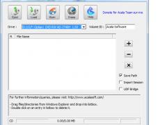 Acala CD DVD Data Burner 4.2.4 Screenshot