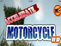 Accelerate Motorcycle HD : Amazing Race 1.0.1 Screenshot