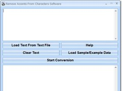 Remove Accents From Characters Software 7.0 Screenshot