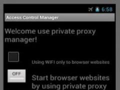 Access Control Manager 1.1.1 Screenshot