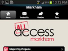Access Markham 1.00 Screenshot