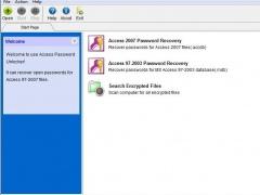 Access Password Unlocker 4.0 Screenshot