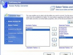 Access To MySQL Data Migration Tool 3.1 Screenshot