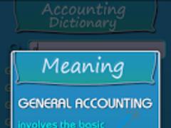Accounting Dictionary 1.0 Screenshot
