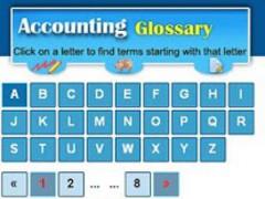 Accounting Glossary 1.1 Screenshot