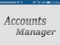 Accounts Manager 2.2.4 Screenshot