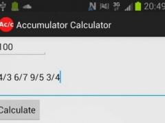 Accumulator Calculator 1 0 6 Free Download