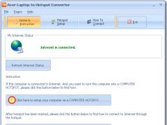 Acer Laptop to Hotspot Converter 9.7 Screenshot