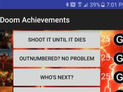 Achievements for Doom 1.0 Screenshot