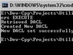 ACL Utils 1.7 Screenshot