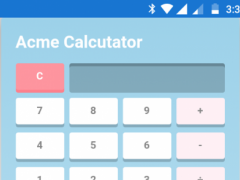 Acme Calculator 0.1 Screenshot