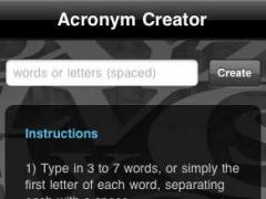 acronym creator 11 screenshot