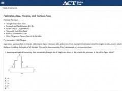 ACT Online Prep 1.0.2 Screenshot