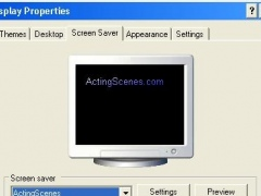 Acting Scenes Screensaver 1.1 Screenshot