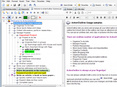 ActionOutline 3.4 Screenshot