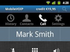ActionVoip frugal living  Screenshot