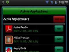 Active Apps Ads / Task Manager 1.3.5 Screenshot
