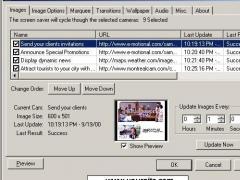 Active Bulletin Screen Saver 1.10 Screenshot