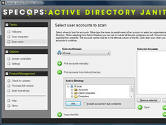 Active Directory Janitor 2.2 Screenshot