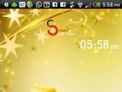 Active - Gold Christmas Theme 2.0 Screenshot