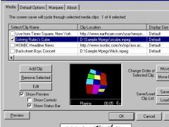 Active Media Player Screen Saver 3.0 Screenshot
