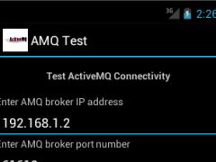 ActiveMQ Client 1.0 Screenshot