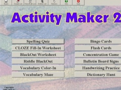 ActivityMaker 2 2.03 Screenshot