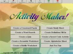 ActivityMaker 3.03 Screenshot
