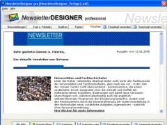 ACX Newsletter Designer pro 11.3.7 Screenshot