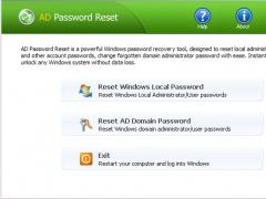 AD Password Reset 1.7 Screenshot