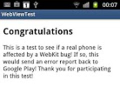 addJavascriptInterface Test 1.0.2 Screenshot