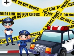 Adenture Police Runner Game-s For Small Kid-s and Learn-ing Toddler-s For School 1.0 Screenshot
