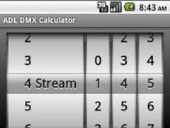 ADL DMX Calculator 1.9 Screenshot